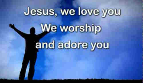 Father I adore You Lay my life before