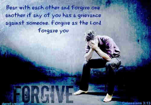 God forgave my sin in Jesus name