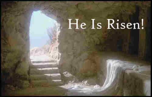 Low in the grave He lay Jesus is my