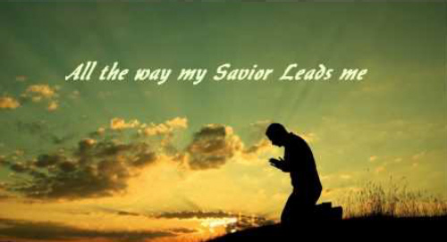 All the way my Saviour leads me What have I to ask