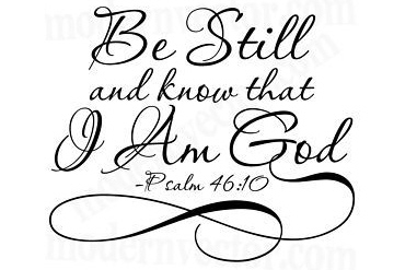 Be still my soul the Lord is on thy side
