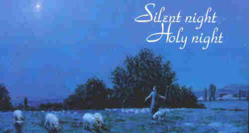 Silent night holy night All is calm
