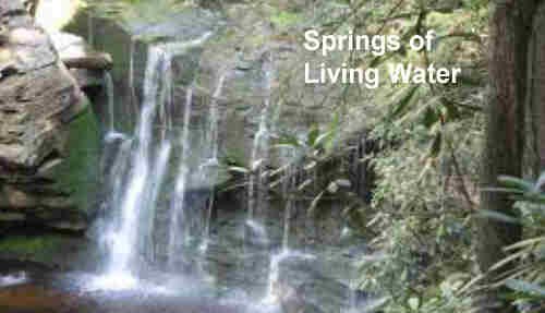 DRINKING AT THE SPRINGS OF LIVING WATER