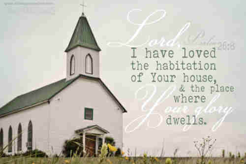 We love the place O God Wherein Thine