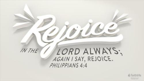 Rejoice ye pure in heart Rejoice give
