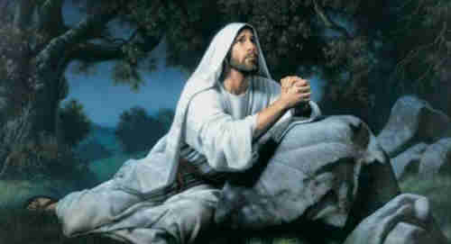 Go to dark Gethsemane Ye that feel the tempter's