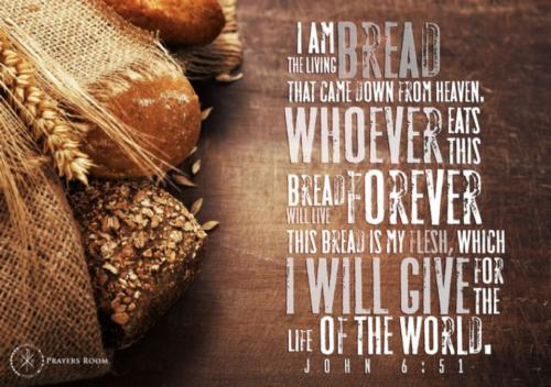 Bread of heaven on Thee we feed