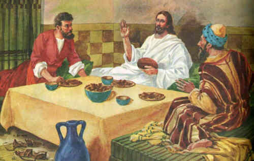 Be known to us in breaking bread