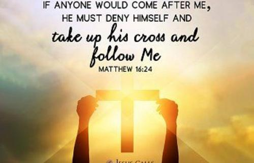 Must Jesus bear the Cross alone And all the world
