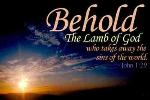 Lamb of God Our souls adore Thee