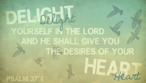 O Lord I will delight in Thee And on Thy