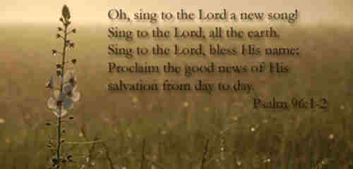 O sing a new song to the Lord sing all