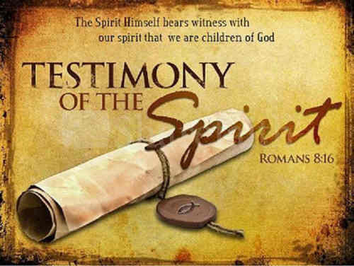 O Thou Whose Spirit witness bears