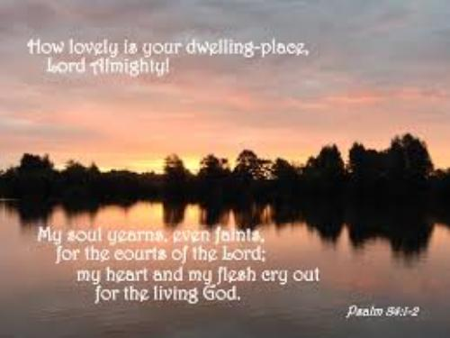 How lovely is Thy dwelling place O Lord