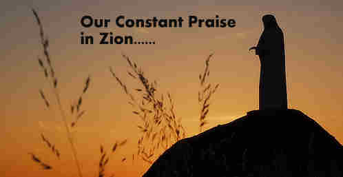 For Thee O God our constant praise In Zion waits