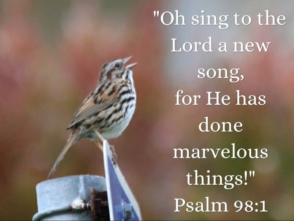 Come let us sing before the Lord