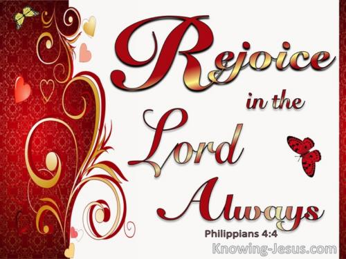 Rejoice ye pure in heart Rejoice give thanks and