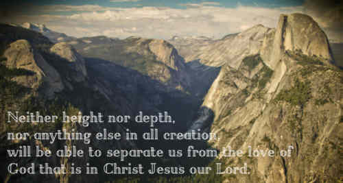 Lord Jesus are we one with thee O height O depth