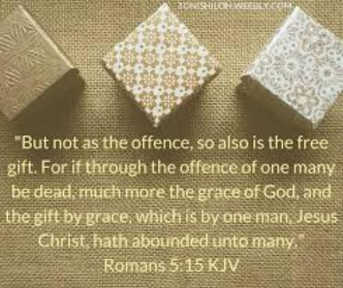 O gift of gifts O grace of faith My God  how can
