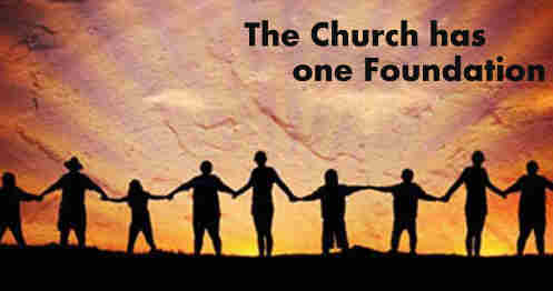 The church has one foundation Tis Jesus