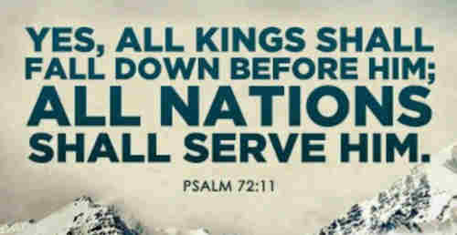 ALL NATIONS SHALL SERVE HIM
