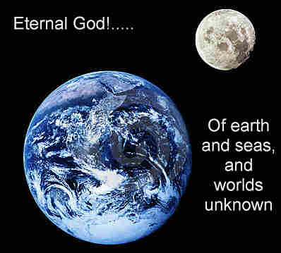 Eternal God Almighty Cause Of earth and seas and