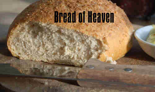 O Bread of Heaven beneath this veil