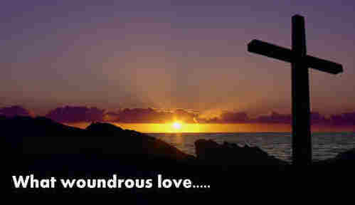What wondrous love that for us all