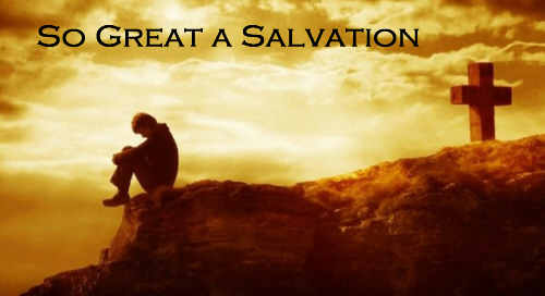 Salvation rich and great For us in