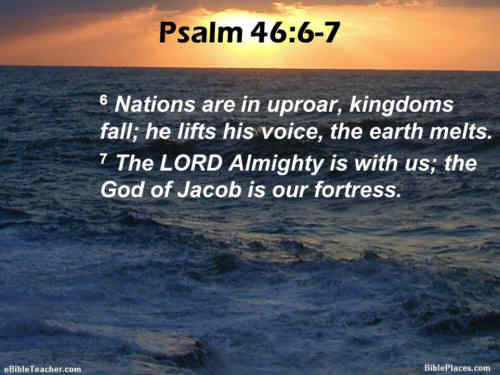 O God our only help and hope The nations