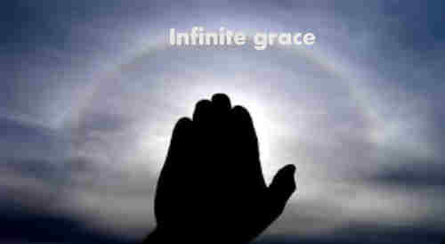 Infinite grace and can it be That heaven